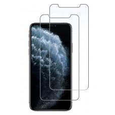 واقي شاشه زجاجي ايفون 11 برو ماكس / ايفون إكس اس ماكس iPhone 11 Pro Max / iPhone XS Max ماركة سبايجن Spigen استكر زجاج تصميم جلاستر إي زد - 2 حبتين