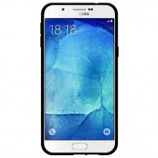 كفر جالكسي ايه 8 (إصدار 2015) Galaxy A8 ماركة أمزر AMZER مرن بالكامل - اسود