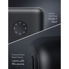 بطارية متنقلة بسعة 20000 ملي أمبير من ماركة أنكر Anker تناسب جميع الأجهزة للشحن من منفذ يو اس بي وقوة تصل إلى 2400 ملي امبير لشحن هاتفك - اسود