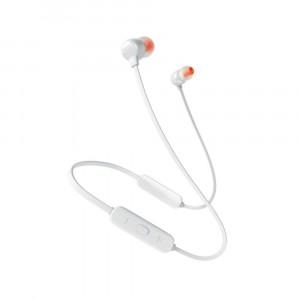 سماعات داخل الأذن لاسلكية ماركة جيه بي إل JBL, نوع TUNE 115BT, سماعة بلوتوث, متوافقة مع جميع الأجهزة, موديل: JBLT115BT - ابيض