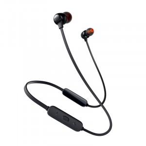 سماعات داخل الأذن لاسلكية ماركة جيه بي إل JBL, نوع TUNE 115BT, سماعة بلوتوث, متوافقة مع جميع الأجهزة, موديل: JBLT115BT - اسود