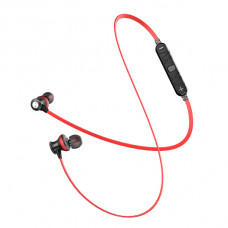 سماعات داخل الإذن لاسلكية ماركة اوي awei, سماعة بلوتوث, متوافقة مع جميع الأجهزة, موديل: A980BL - احمر
