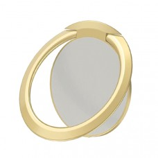 مسكة خاتم للأجهزة الذكية, متوافق مع كل الجوالات والتابلت , متوافق مع الحوامل المغناطيسيه - ذهبي