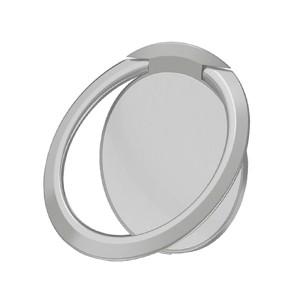مسكة خاتم للأجهزة الذكية, متوافق مع كل الجوالات والتابلت , متوافق مع الحوامل المغناطيسيه - فضي