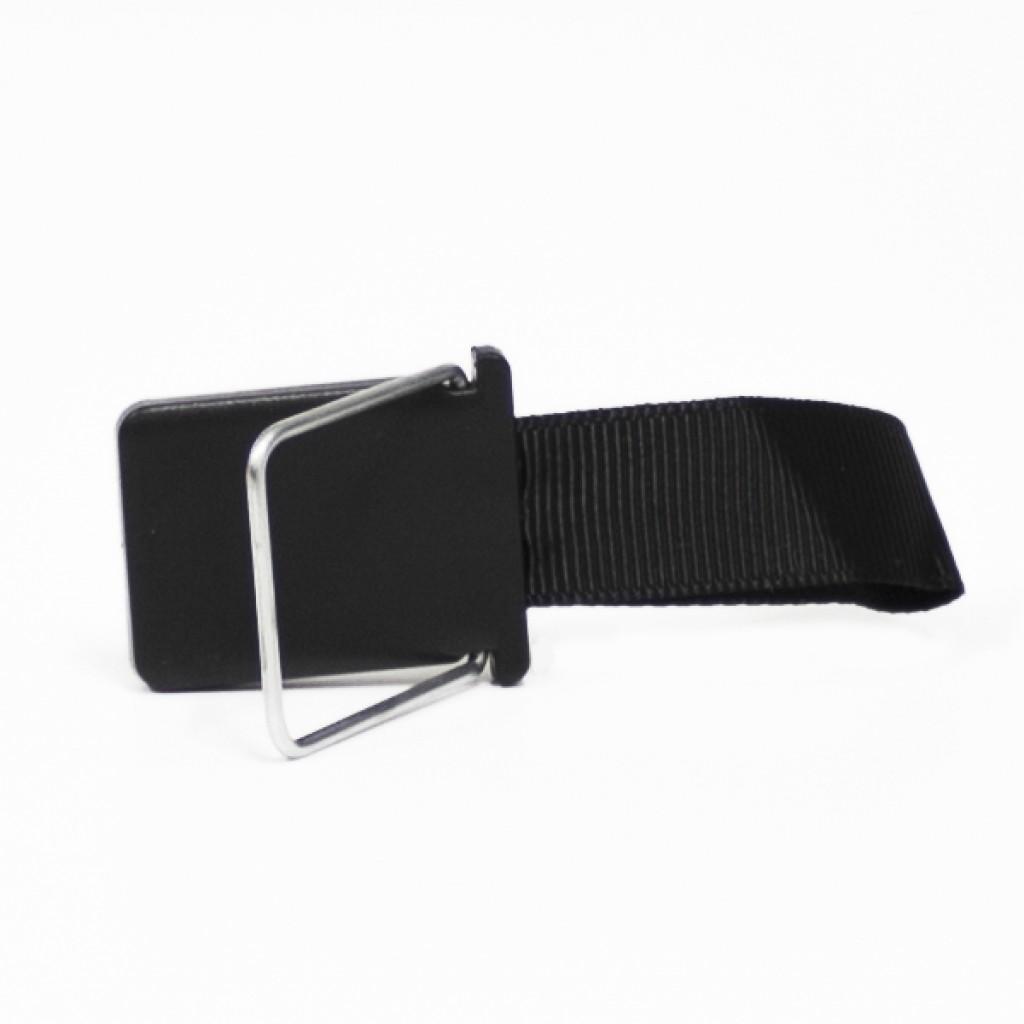 مسكة شريط حزام للأصبع للأجهزة الذكية, قاعدة بلاستيكية, متوافق مع كل الجوالات والتابلت - اسود