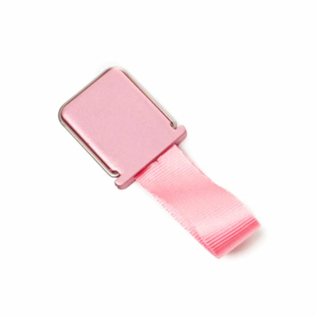 مسكة شريط حزام للأصبع للأجهزة الذكية, قاعدة بلاستيكية, متوافق مع كل الجوالات والتابلت - وردي