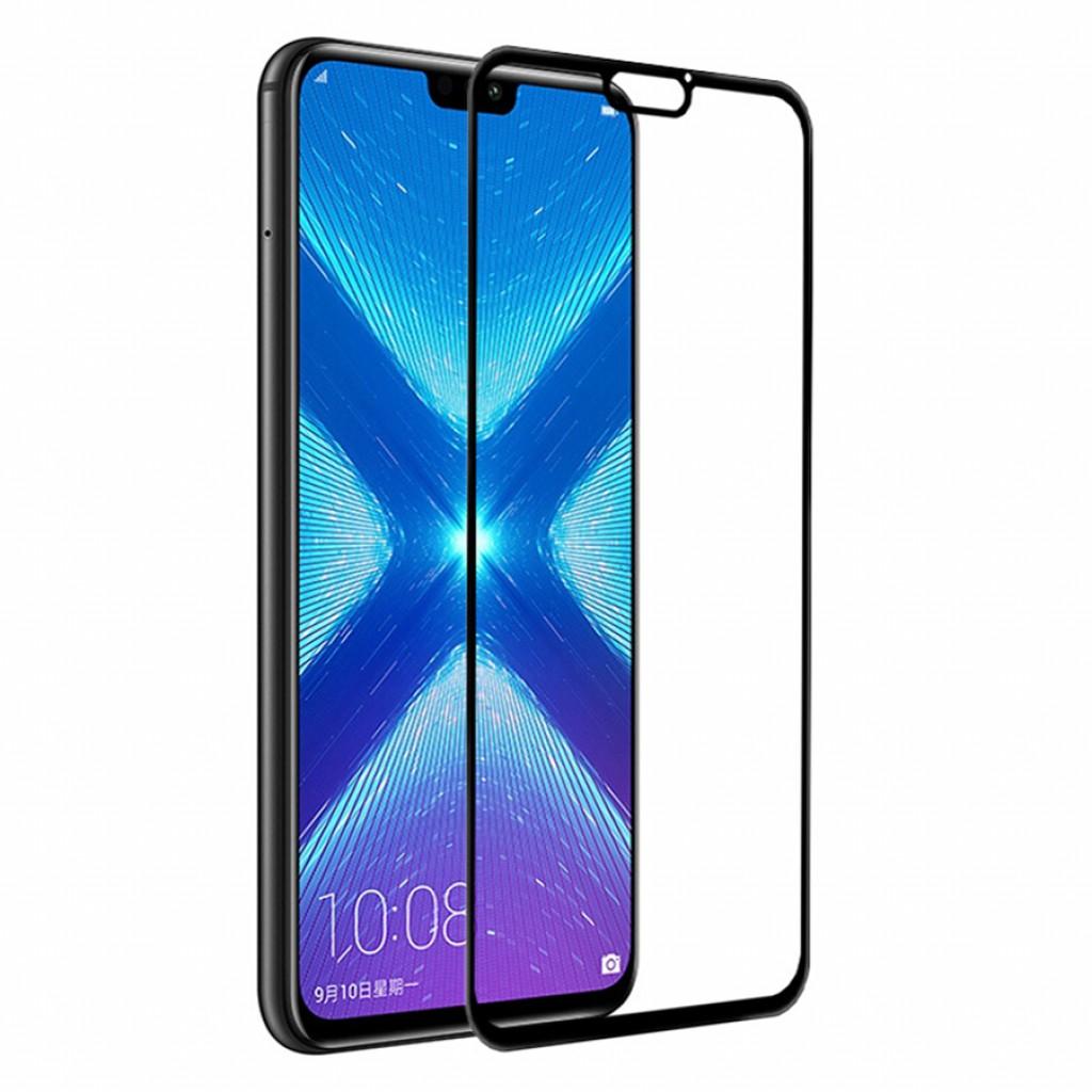 واقي شاشه زجاجي -استكر زجاج- هواوي هونر 8 إكس Huawei Honor 8x وضوح عالي مقاوم التبقع