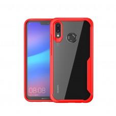 كفر هواوي هونر بلاي Huawei Honor Play صلب من الخلف وإطار مرن - احمر
