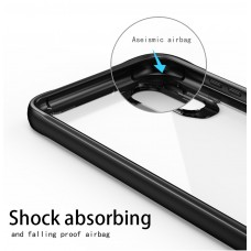 كفر هواوي هونر بلاي Huawei Honor Play صلب من الخلف وإطار مرن - اسود