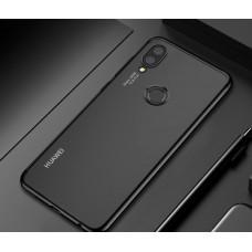 كفر هواوي هونر بلاي Huawei Honor Play مرن بالكامل شفاف بحدود - اسود