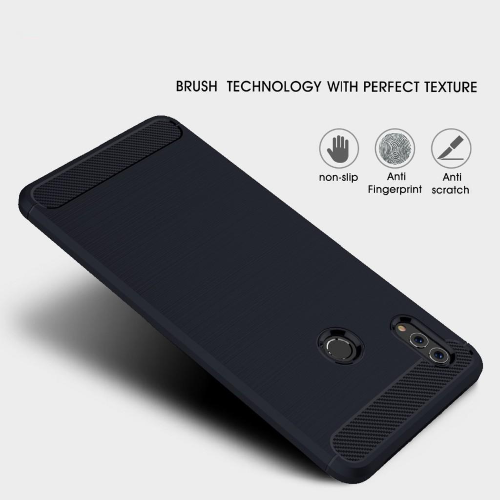 كفر هواوي هونر بلاي Huawei Honor Play مرن بالكامل - كحلي
