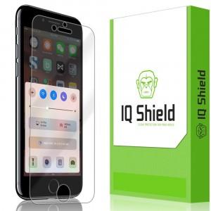 واقي شاشه -استكر- ايفون 7 / ايفون 8 , iPhone 7 / iPhone 8 من ماركة آي كيو شيلد IQ Shield وضوح عالي مقاوم التبقع