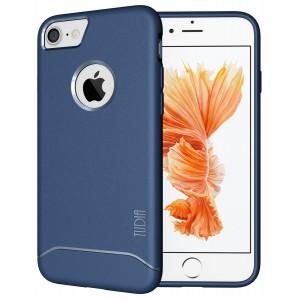 كفر ايفون 7 / ايفون 8 , iPhone 7 / iPhone 8 ماركة توديا TUDIA مرن بالكامل - ازرق