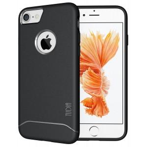 كفر ايفون 7 / ايفون 8 , iPhone 7 / iPhone 8 ماركة توديا TUDIA مرن بالكامل - اسود