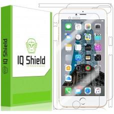 واقي شاشه -استكر- ايفون 7 بلس/ ايفون 8 بلس , iPhone 7 plus / iPhone 8 plus ماركة آي كيو شيلد IQ Shield لكامل الجهاز وضوح عالي مقاوم التبقع