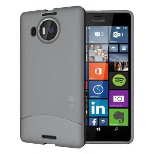 كفر ميكروسوفت لوميا 950 اكس ال Microsoft Lumia 950 XL ماركة توديا TUDIA مرن بالكامل - رمادي