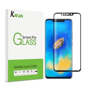 واقي شاشه زجاجي -استكر زجاج- هواوي مايت 20 برو Huawei Mate 20 Pro ماركة كاتيان KATIAN وضوح عالي مقاوم التبقع