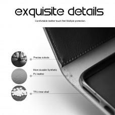 جراب هواوي مايت 20 برو Huawei Mate 20 Pro ماركة سليو SLEO محفظة جلد مع مكان للبطاقات وستاند - اسود