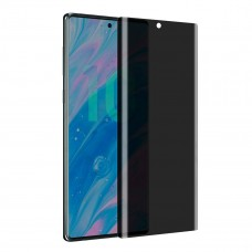 واقي شاشه زجاجي جالكسي نوت 10 بلس Galaxy Note 10 Plus استكر زجاج ضد التجسس متوافق مع الجرابات