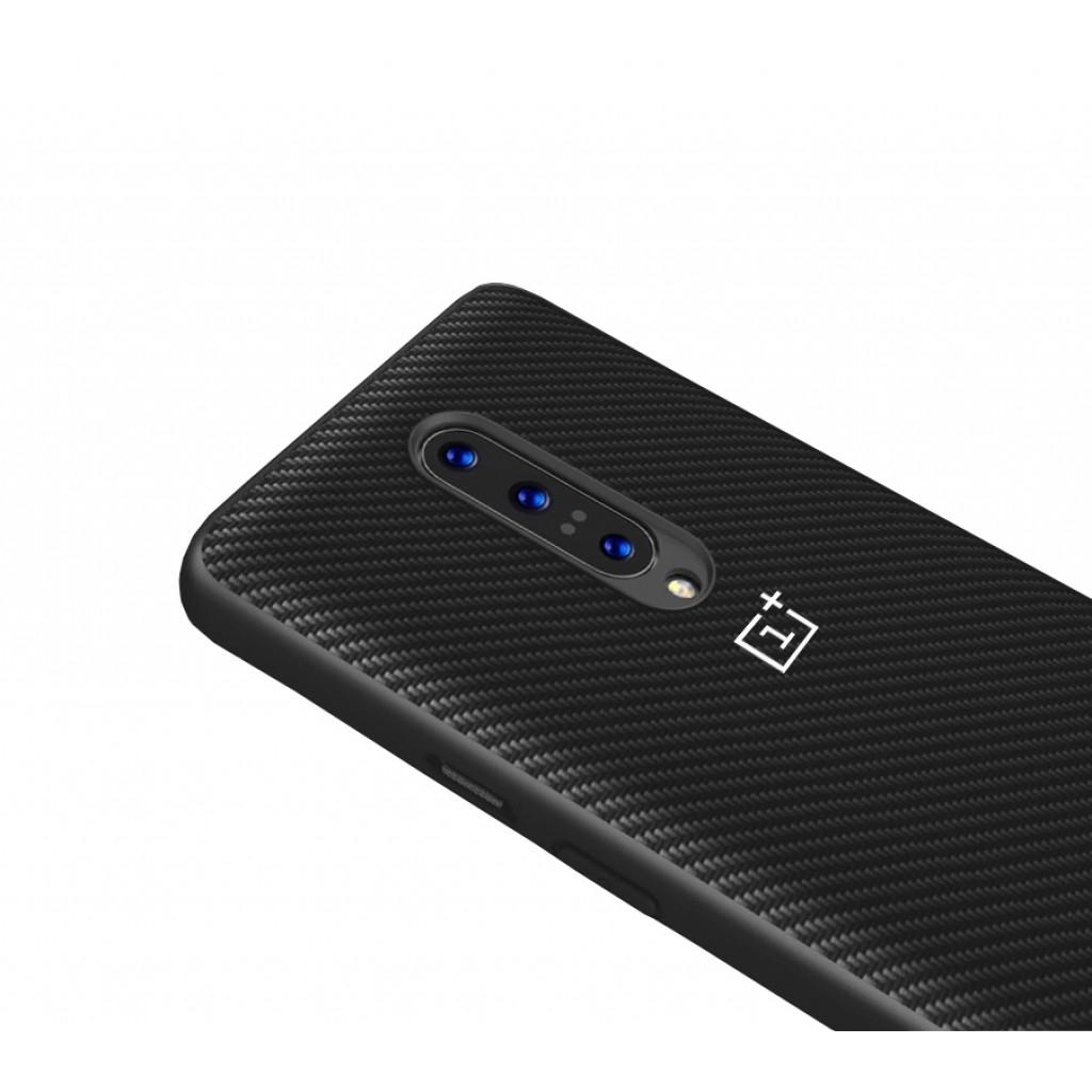 كفر ون بلس 7 برو OnePlus 7 Pro مرن وصلب بالكامل - اسود