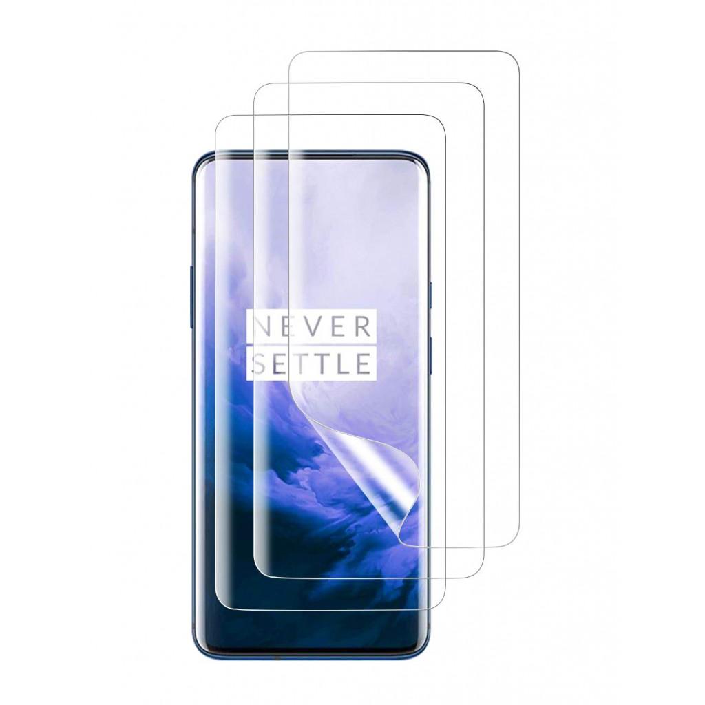 واقي شاشة ون بلس 7 برو / 7 تي برو OnePlus 7 Pro / 7T Pro ماركة اورزيرو Orzero استكر عادي من الحافة للحافة - 3 حبات