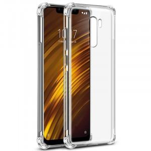 كفر شاومي بوكوفون اف 1 Xiaomi Pocophone F1 مرن بالكامل متين - شفاف