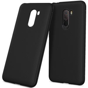 كفر شاومي بوكوفون اف 1 Xiaomi Pocophone F1 مرن بالكامل - اسود