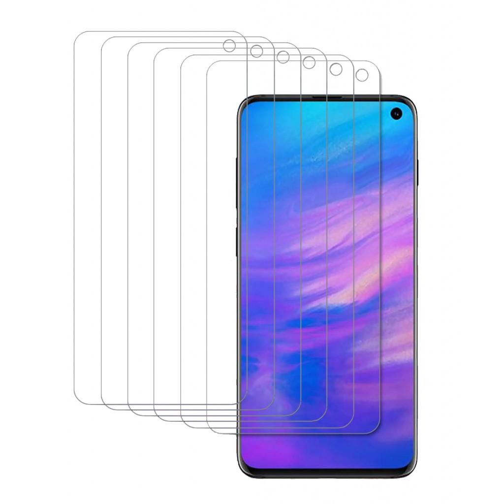 واقي شاشه -استكر- جالكسي اس 10 إي Galaxy S10e ماركة سوبر شيلدز Supershieldz وضوح عالي مقاوم التبقع - 6 حبات