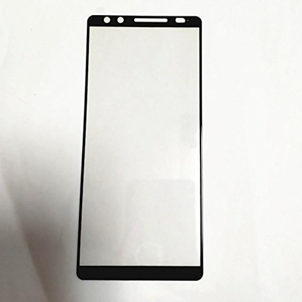 واقي شاشه زجاجي -استكر زجاج- اتش تي سي يو 12 بلس HTC U12 Plus وضوح عالي مقاوم التبقع - 2 حبتين