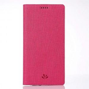 جراب اتش تي سي يو 12 بلس HTC U12 Plus محفظة فليب مع ستاند ومكان للبطاقات - احمر
