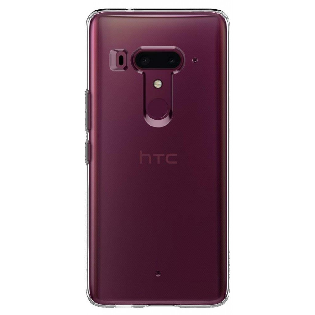 كفر اتش تي سي يو 12 بلس HTC U12 Plus ماركة سبايجن Spigen مرن بالكامل - شفاف