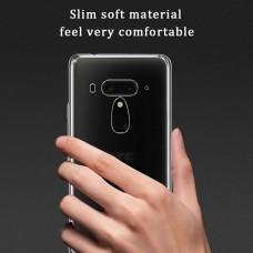 كفر اتش تي سي يو 12 بلس HTC U12 Plus ماركة افايدت AVIDET مرن بالكامل - شفاف