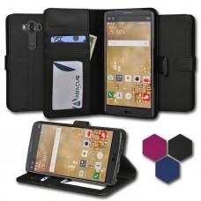 جراب ال جي في 10 LG V10 محفظة جلد مع مكا...