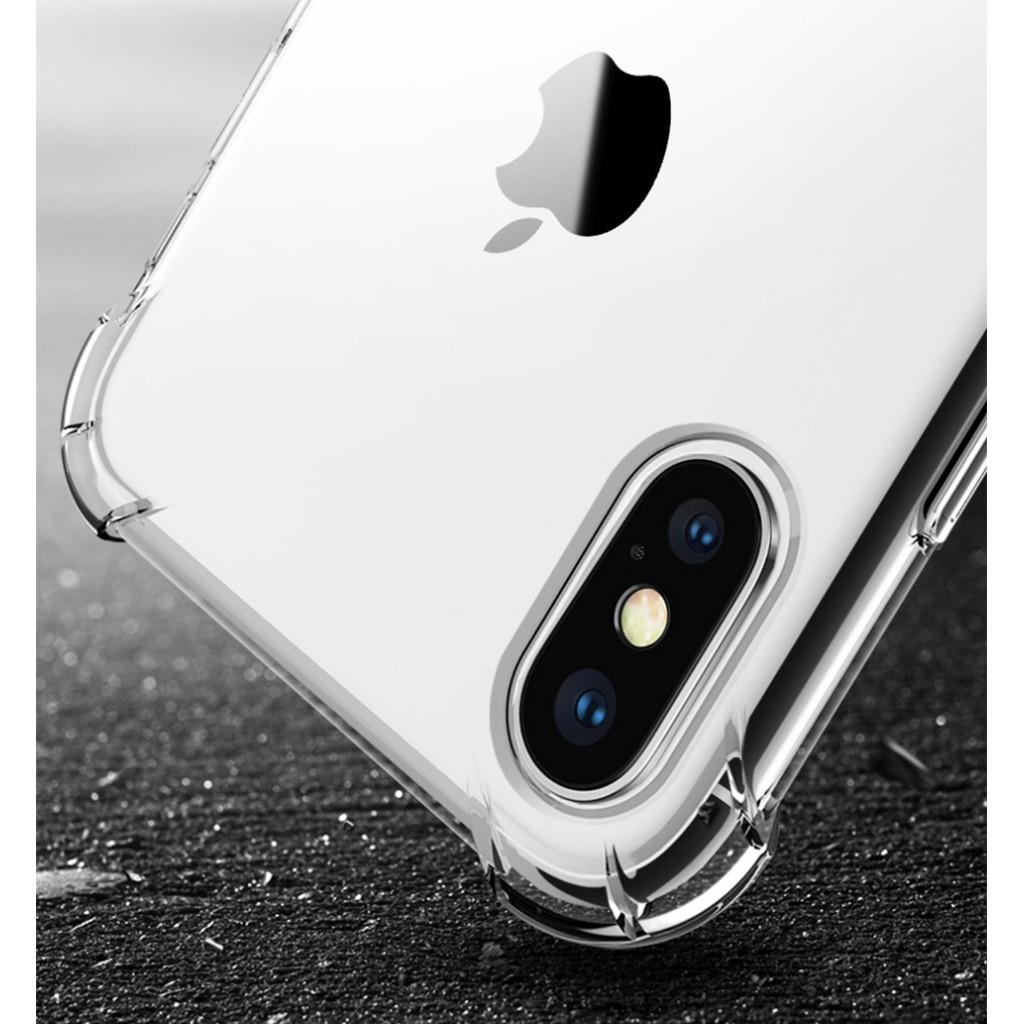 كفر ايفون اكس / اكس اس iPhone X / XS مرن بالكامل متين - شفاف