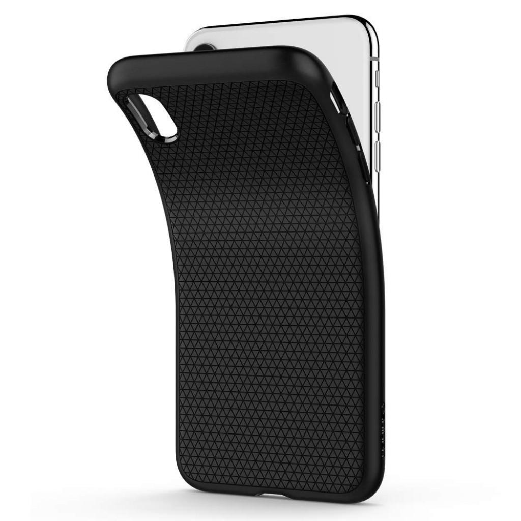 كفر ايفون اكس اس ماكس iPhone XS Max ماركة سبايجن Spigen مرن بالكامل - اسود
