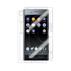واقي شاشه -استكر- اكسبيريا اكس زد بريميوم Xperia XZ Premium ماركة سكينومي Skinomi لكامل الجهاز وضوح عالي مقاوم التبقع