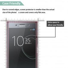 واقي شاشه زجاجي -استكر زجاج- اكسبيريا اكس زد بريميوم Xperia XZ Premium ماركة كيسفاسن CASEVASN وضوح عالي مقاوم التبقع - حبتين